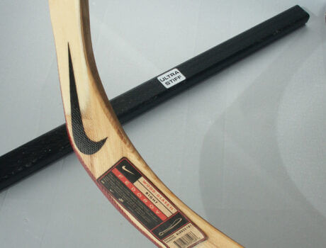 Carbon hockeystick