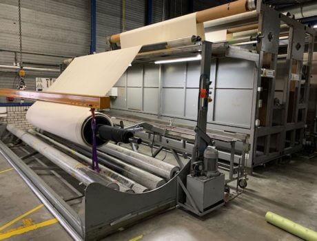 Lichtgewicht afrolbuis voor tapijtproductie