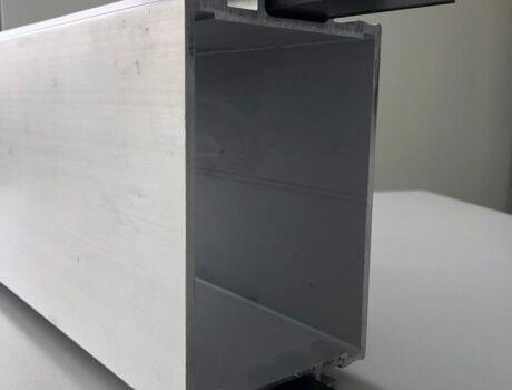 carbon lamellen grijs